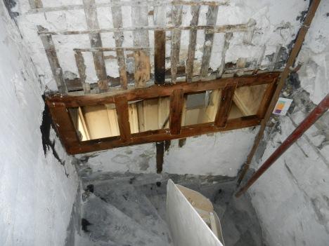Anciens châssis vitrés